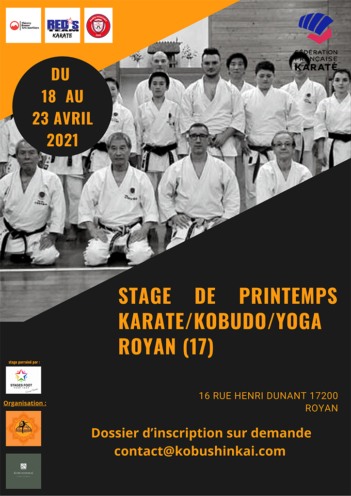 Stage printemps 2021 à Royan